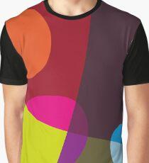 Abstract 'Tumbling Down No1' Graphic T-Shirt