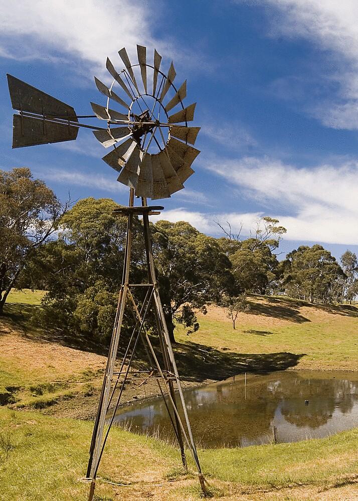 Morning Windmill by ONYAMARK