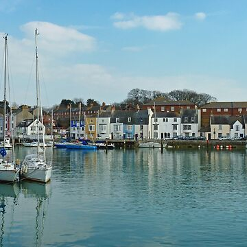 Weymouth  Harbour March 9th 2010 , Dorset by lynn45