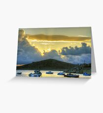 Storm Clouds in the Dodecanese Greeting Card