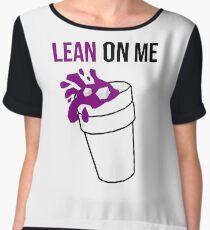 Lean On Me Chiffon Top
