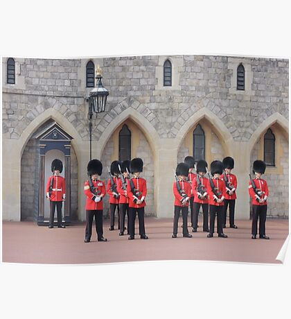 Ceremonial Guards Poster