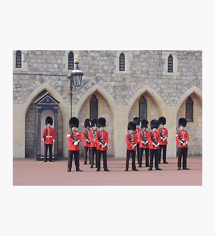 Ceremonial Guards Photographic Print