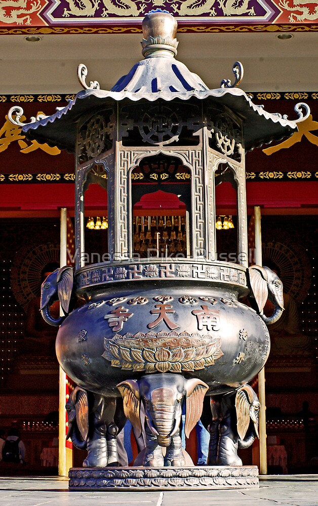 Nan Tien - Incense Burner  by Vanessa Pike-Russell