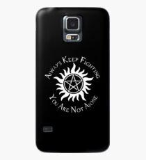 Funda/vinilo para Samsung Galaxy Supernatural Not Alone v2.0