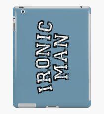 IRONIC MAN Vintage White iPad Case/Skin