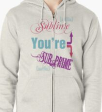 Sublime/Sub-Prime Zipped Hoodie