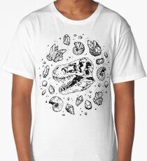 Geo-rex Vortex   Black Long T-Shirt