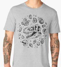 Geo-rex Vortex | Black Men's Premium T-Shirt