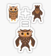 How to make an Owlbear Sticker