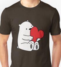 Ice Bear Love Unisex T-Shirt