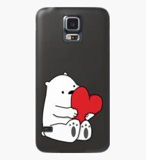 Ice Bear Love Case/Skin for Samsung Galaxy
