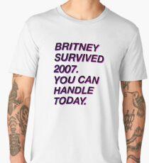 Britney survived 2007 Men's Premium T-Shirt