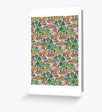 Farm vegetables Greeting Card
