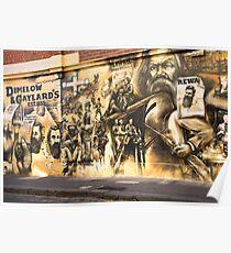 Melbourne Mural 2004 Poster