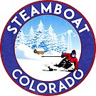 Steamboat Springs Colorado Skiing Mountains Ski Lift by MyHandmadeSigns