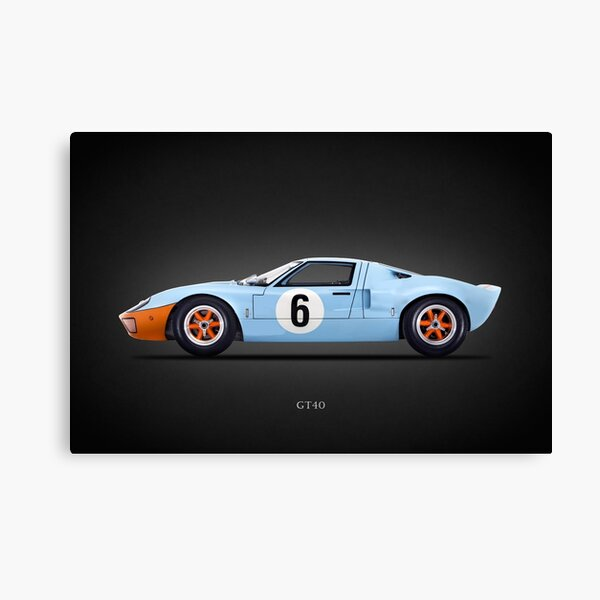 The GT40 Canvas Print
