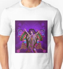 Queen of the Purple Butterflies Unisex T-Shirt