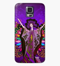 Queen of the Purple Butterflies Case/Skin for Samsung Galaxy