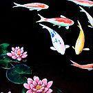 Waterlilies by Midori Furze