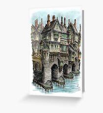 The Great Bridge - Colour Portrait Greeting Card