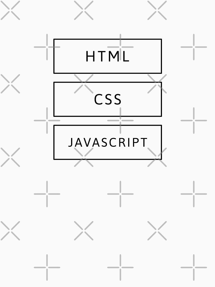HTML, CSS & JavaScript Developer (Inverted) by developer-gifts
