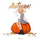 Autumn by JuditMallolArt