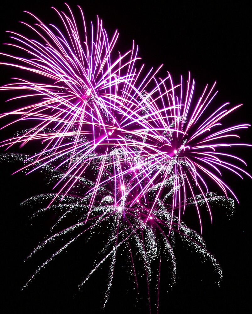 The Art Of Fireworks. by Michael  Bermingham