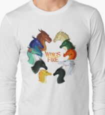 Wings of Fire - All Together Long Sleeve T-Shirt