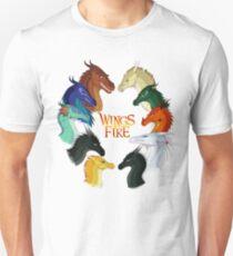 Flügel des Feuers - Alle zusammen Unisex T-Shirt