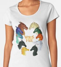 Wings of Fire - All Together Premium Scoop T-Shirt