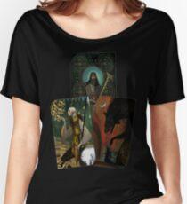 Solas Tarot Card Trilogy Women's Relaxed Fit T-Shirt