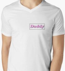 Daddy Men's V-Neck T-Shirt