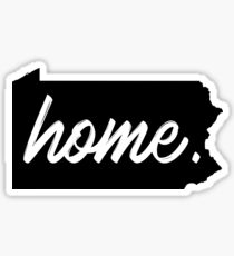 Pennsylvania Home  Sticker