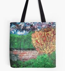 """Resurrection of the Dead """"I Knew You Not"""" Tote Bag"""