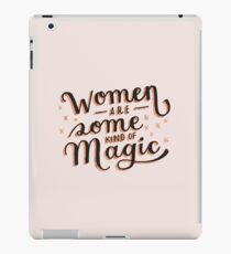 Women are Some Kind of Magic - The Princess Saves Herself in This One iPad Case/Skin