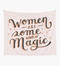 Women are Some Kind of Magic - The Princess Saves Herself in This One Wall Tapestry