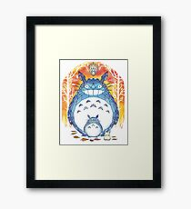 forest diamonds Framed Print