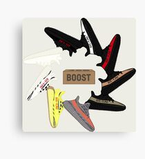 Yeezy Wheel Canvas Print