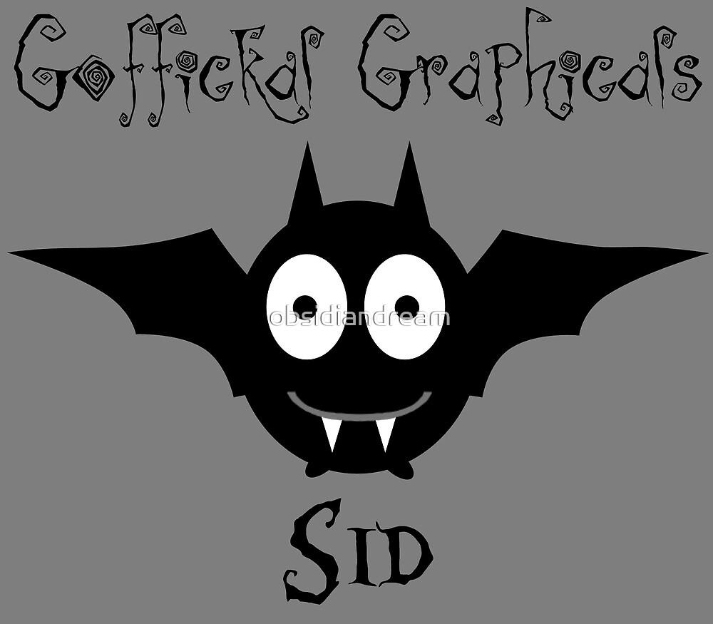 Sid the Bat by obsidiandream