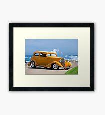 1933 Pontiac Deluxe 8 Touring Sedan IV Framed Print