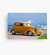 1933 Pontiac Deluxe 8 Touring Sedan IV Canvas Print