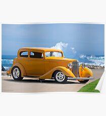 1933 Pontiac Deluxe 8 Touring Sedan IV Poster