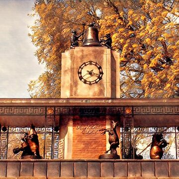 Historic Delacorte Musical Clock At The Central Park Zoo - New York USA by mimmi12