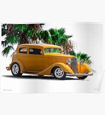 1933 Pontiac Deluxe 8 Touring Sedan III Poster