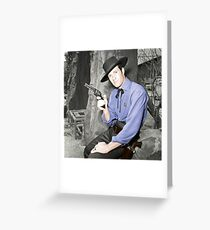 West Greeting Card