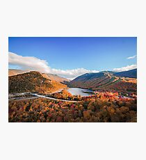 Autumn in Franconia Notch Photographic Print