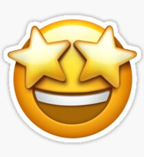 Starstruck Emoji Sticker