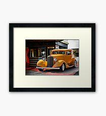 1933 Pontiac Deluxe 8 Touring Sedan II Framed Print