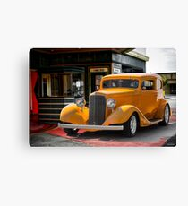 1933 Pontiac Deluxe 8 Touring Sedan II Canvas Print